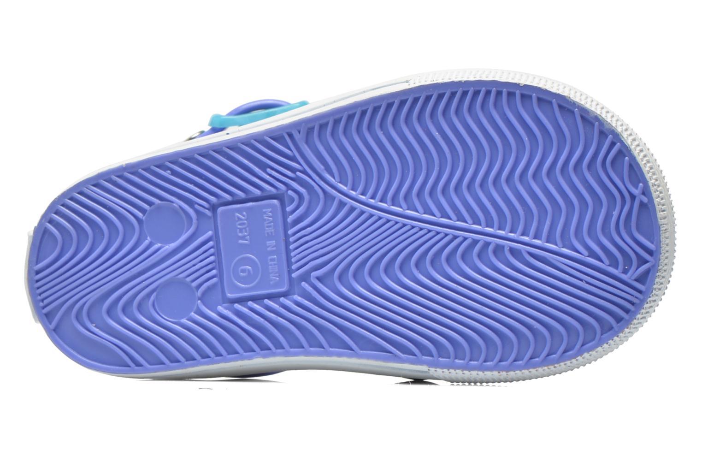 Sandales et nu-pieds Colors of California Jelly sandals CROCO Violet vue haut