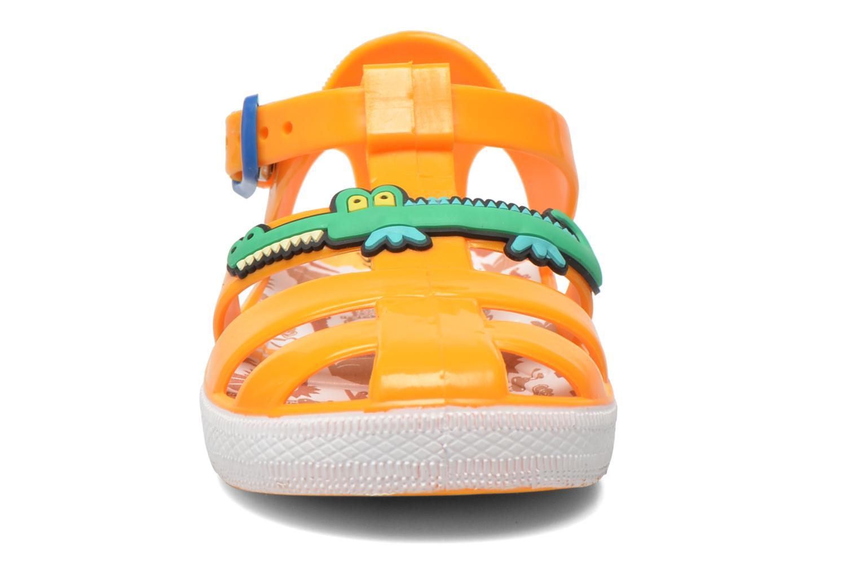 Sandales et nu-pieds Colors of California Jelly sandals CROCO Orange vue portées chaussures