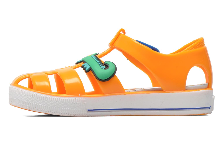 Sandales et nu-pieds Colors of California Jelly sandals CROCO Orange vue face