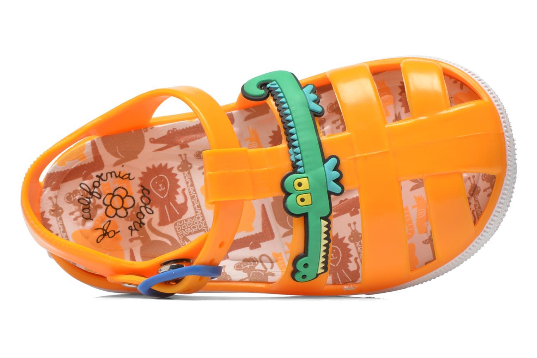Sandales et nu-pieds Colors of California Jelly sandals CROCO Orange vue gauche