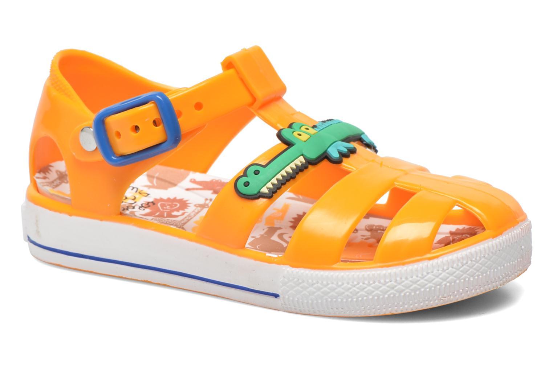 Sandales et nu-pieds Colors of California Jelly sandals CROCO Orange vue détail/paire