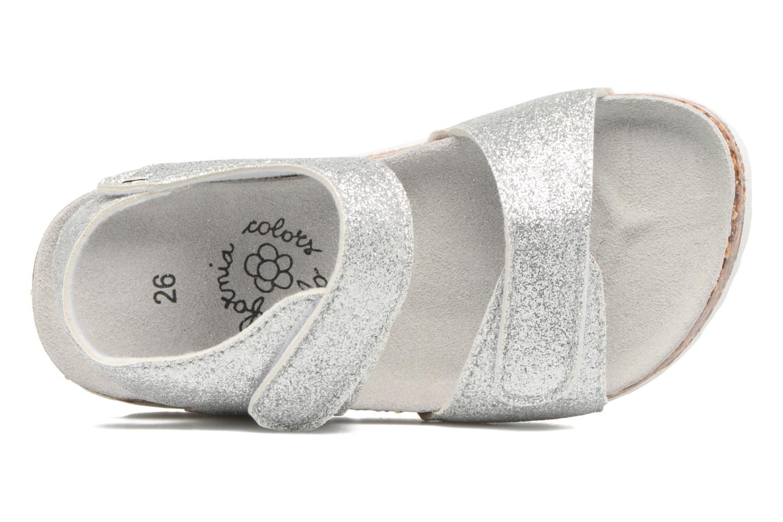 Sandales et nu-pieds Colors of California Bio Laminated Sandals Argent vue gauche