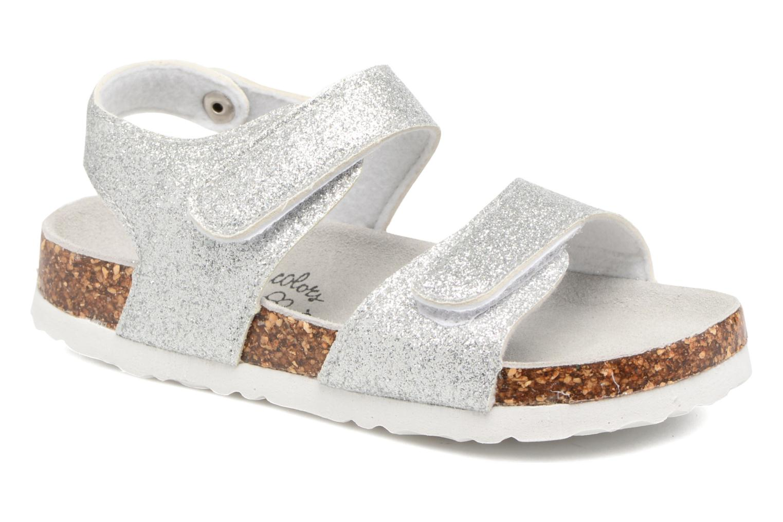 Sandaler Colors of California Bio Laminated Sandals Sølv detaljeret billede af skoene