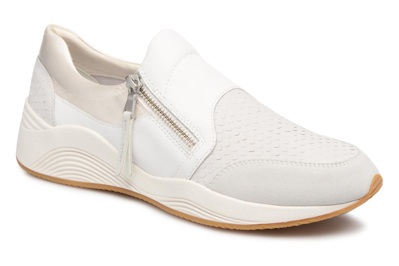 Grandes descuentos últimos zapatos Geox D OMAYA A D620SA (Blanco) - Deportivas Descuento