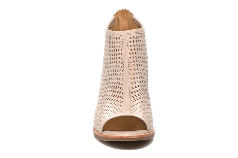 Bottines et boots Geox D NEW CALLIE E D6240E Gris vue portées chaussures