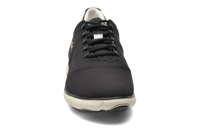Baskets Geox D NEBULA A D621EA Noir vue portées chaussures