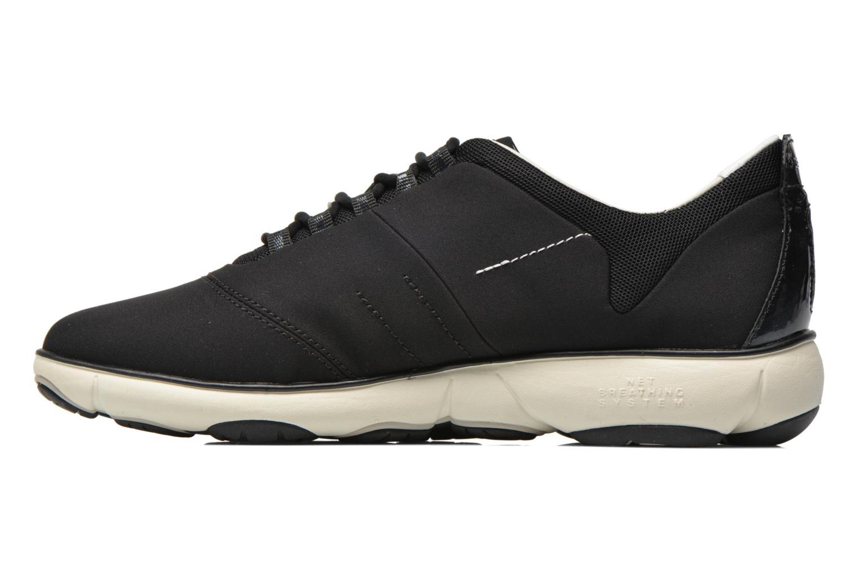 Sneakers Geox D NEBULA A D621EA Zwart voorkant