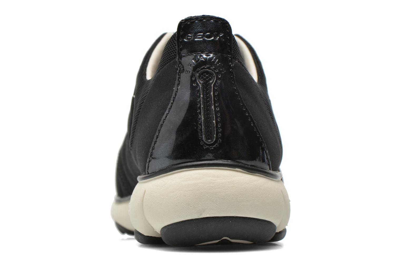 Sneakers Geox D NEBULA A D621EA Zwart rechts