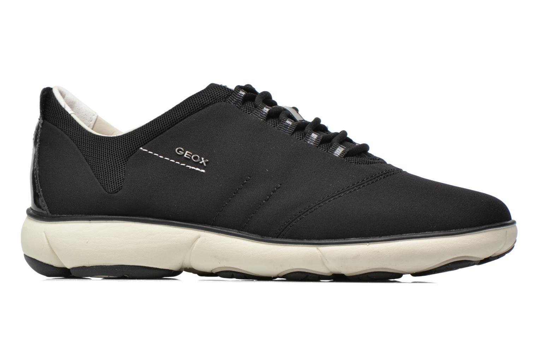Sneakers Geox D NEBULA A D621EA Zwart achterkant