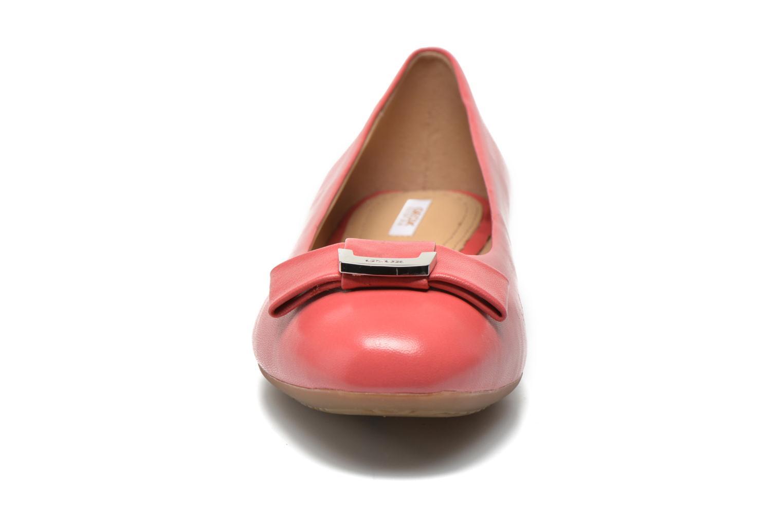 Ballerines Geox D LOLA A D54M4A Rose vue portées chaussures