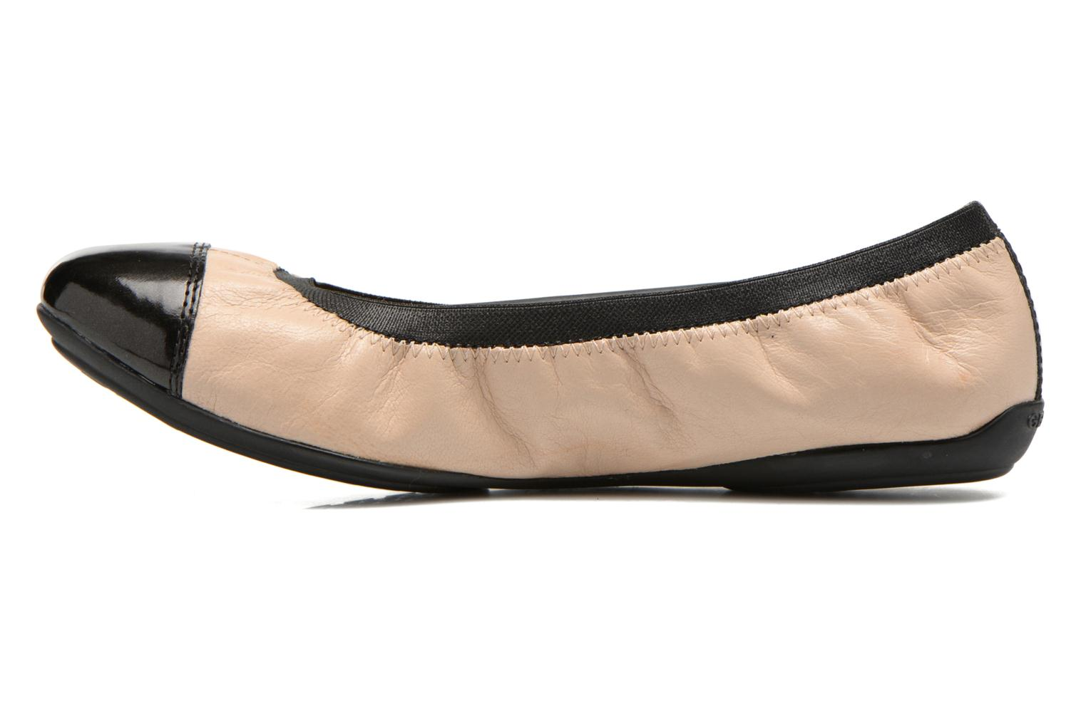 Ballerines Geox D CHARLENE A D62Y7A Beige vue face
