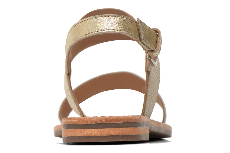 Sandali e scarpe aperte Geox D SOZY A D622CA Beige immagine destra