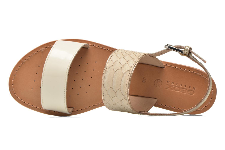 Sandali e scarpe aperte Geox D SOZY A D622CA Beige immagine sinistra