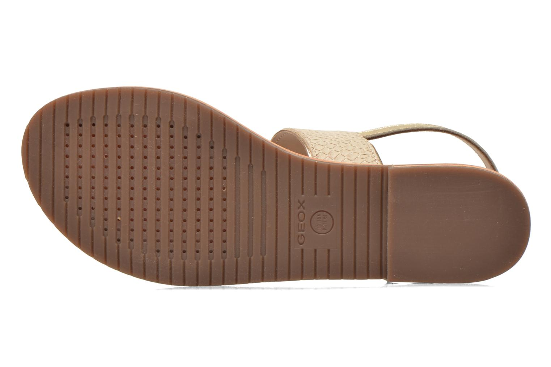 Sandali e scarpe aperte Geox D SOZY A D622CA Beige immagine dall'alto