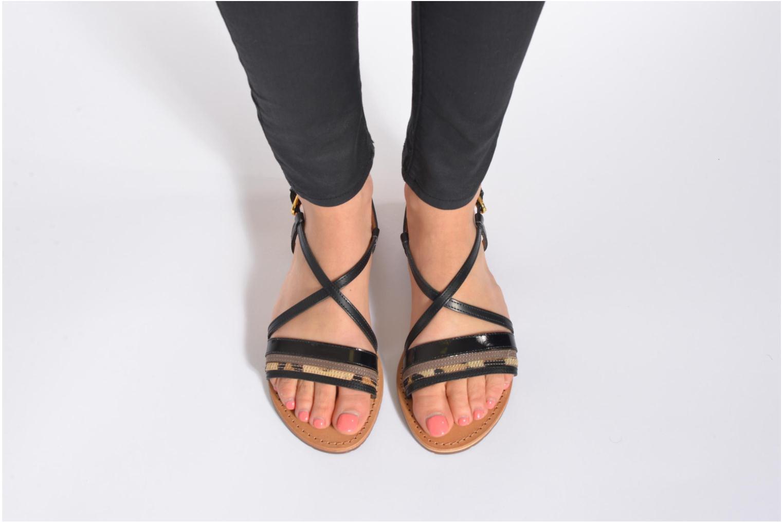 Sandales et nu-pieds Geox D SOZY O D622CO Multicolore vue bas / vue portée sac