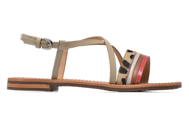 Sandales et nu-pieds Geox D SOZY O D622CO Multicolore vue derrière