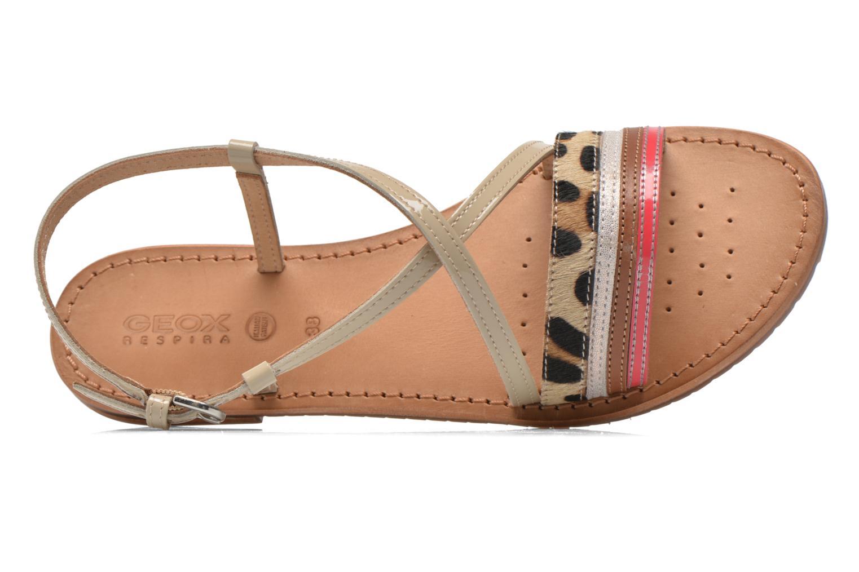 Sandales et nu-pieds Geox D SOZY O D622CO Multicolore vue gauche