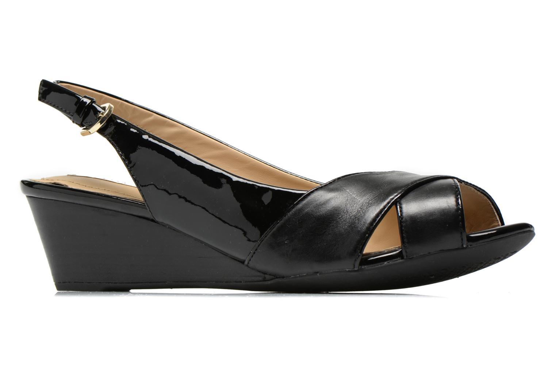 Sandales et nu-pieds Geox D FLORALIE B D62T4B Noir vue derrière