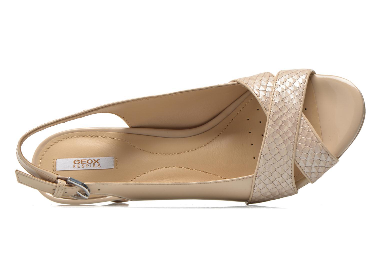 Sandales et nu-pieds Geox D LANA B D62Q6B Beige vue gauche