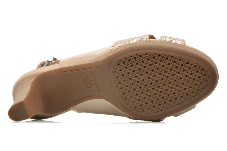 Sandales et nu-pieds Geox D LANA B D62Q6B Beige vue haut