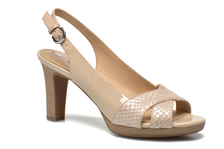 Sandales et nu-pieds Geox D LANA B D62Q6B Beige vue détail/paire