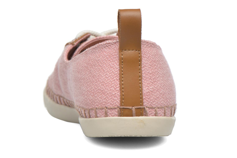 Chaussures à lacets P-L-D-M By Palladium Baclara Cvs Rose vue droite