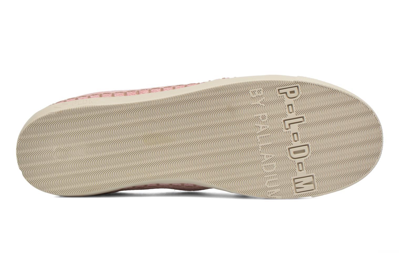 Chaussures à lacets P-L-D-M By Palladium Baclara Cvs Rose vue haut