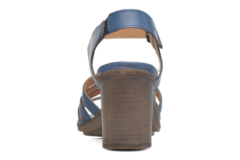 Sandales et nu-pieds P-L-D-M By Palladium Gaya Frl Bleu vue droite