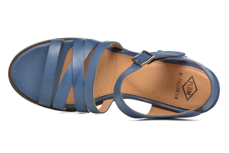 Sandales et nu-pieds P-L-D-M By Palladium Gaya Frl Bleu vue gauche
