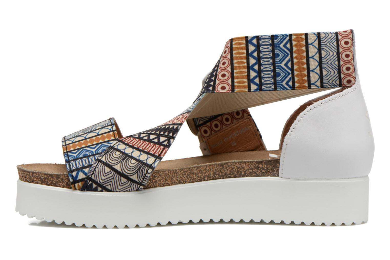 Sandales et nu-pieds P-L-D-M By Palladium Value Fts Multicolore vue face