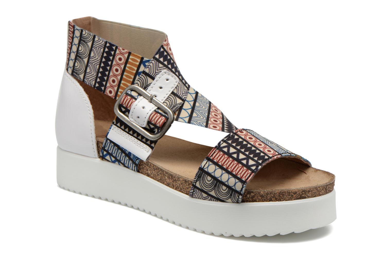Sandales et nu-pieds P-L-D-M By Palladium Value Fts Multicolore vue détail/paire