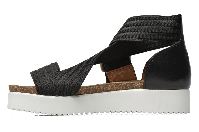 Sandales et nu-pieds P-L-D-M By Palladium Value Fts Noir vue face