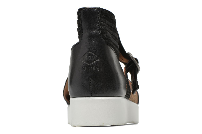 Sandales et nu-pieds P-L-D-M By Palladium Value Fts Noir vue droite