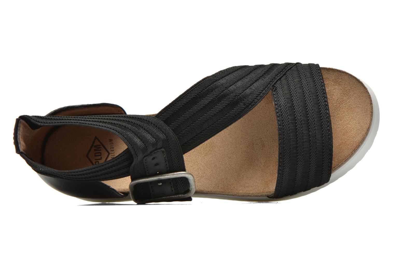 Sandales et nu-pieds P-L-D-M By Palladium Value Fts Noir vue gauche