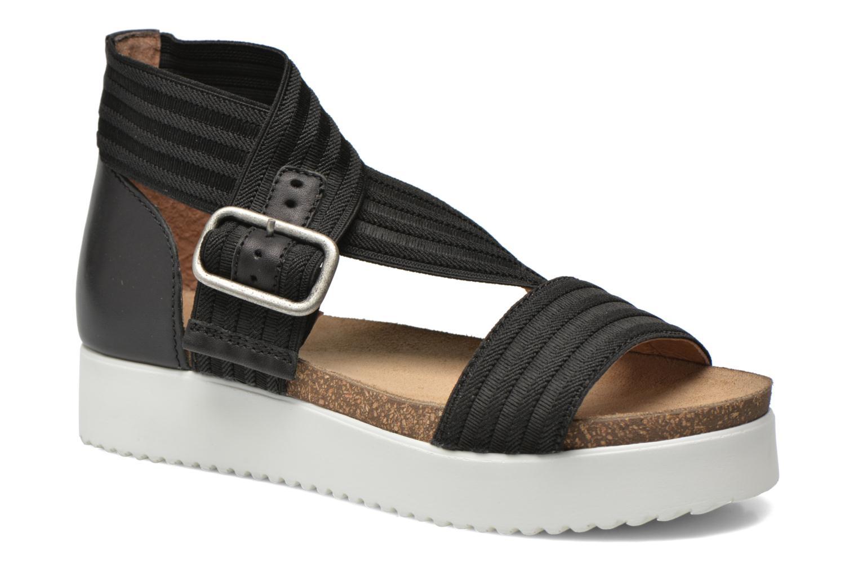 Sandales et nu-pieds P-L-D-M By Palladium Value Fts Noir vue détail/paire