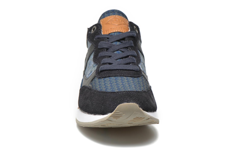 Baskets P-L-D-M By Palladium Segundo Print W Bleu vue portées chaussures