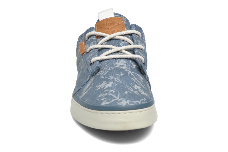 Baskets P-L-D-M By Palladium Free Laser Bleu vue portées chaussures