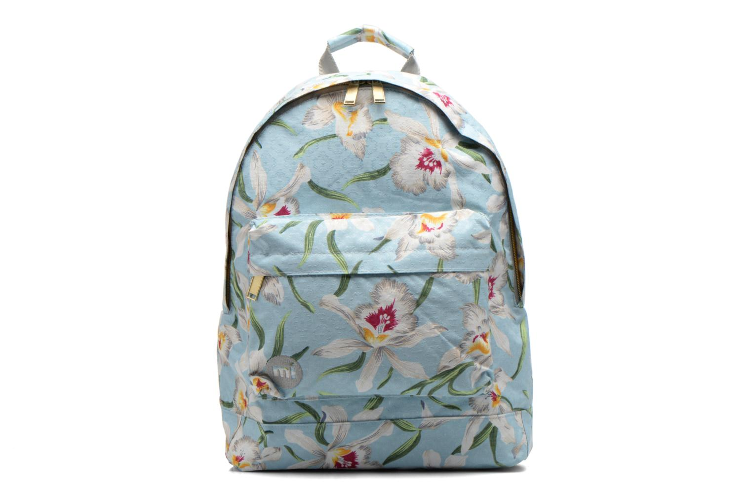 Gold orchid Backpack Pale Blue