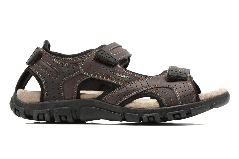 Sandals Geox U S.STRADA A U6224A Brown back view