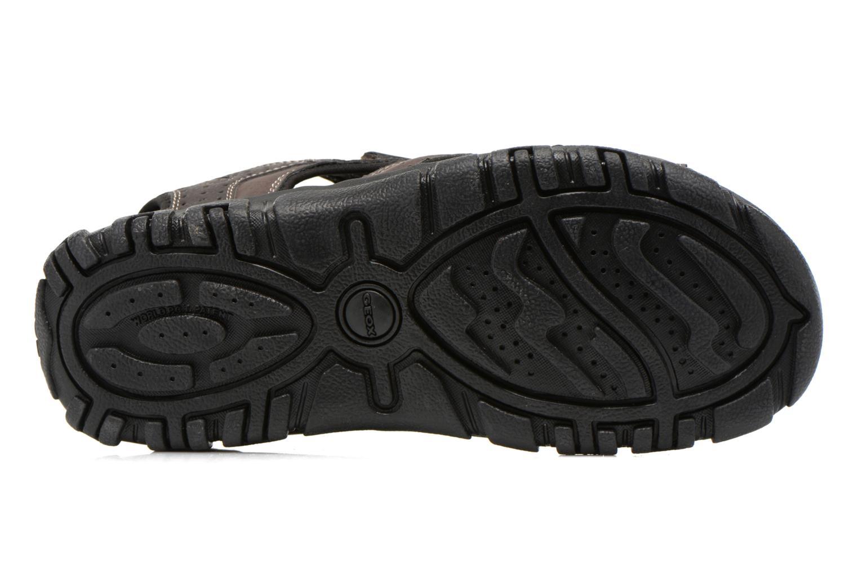 Sandales et nu-pieds Geox U S.STRADA A U6224A Marron vue haut