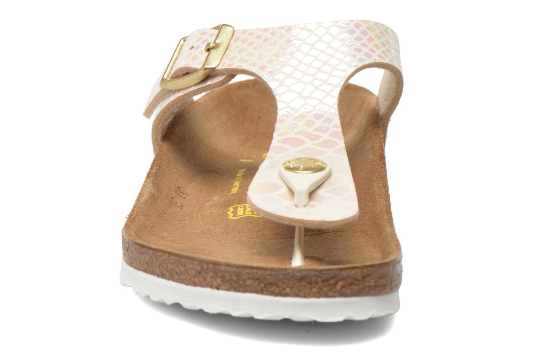 Tongs Birkenstock Gizeh Birko Flor Multicolore vue portées chaussures