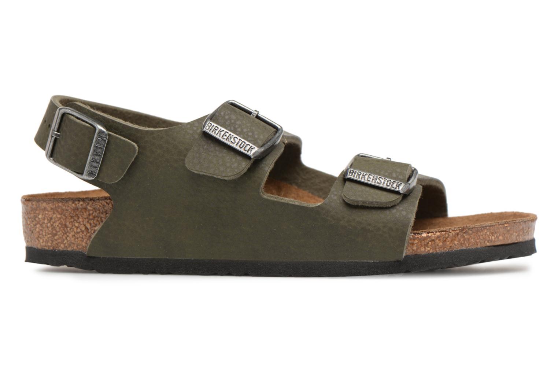 Sandali e scarpe aperte Birkenstock Milano Kids Verde immagine posteriore