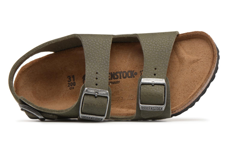 Sandali e scarpe aperte Birkenstock Milano Kids Verde immagine sinistra