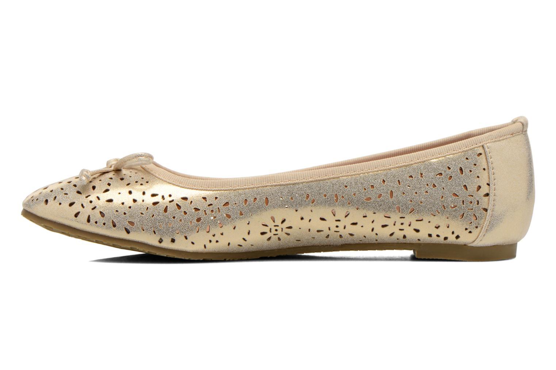 Ballerinas Refresh Coline 61818 gold/bronze ansicht von vorne