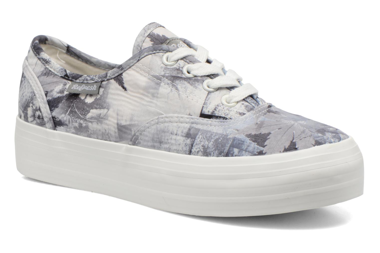 Trainers Refresh Holly 62081 Grey detailed view/ Pair view