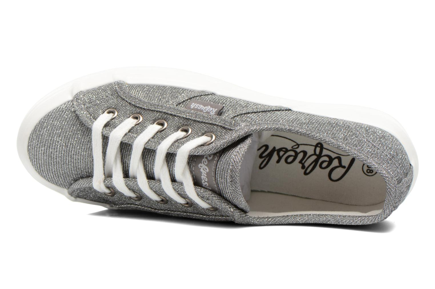 Trainers Refresh Cory 61908 Silver view from the left