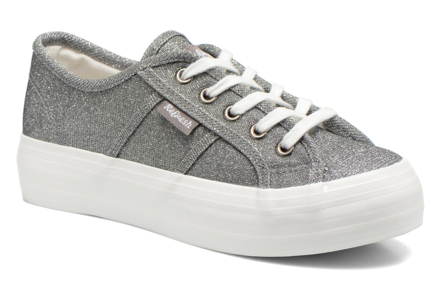 Trainers Refresh Cory 61908 Silver detailed view/ Pair view