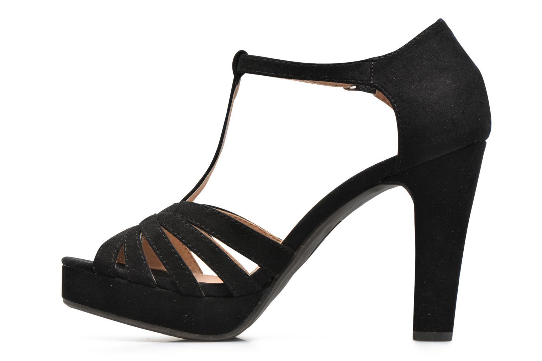Sandales et nu-pieds Refresh Party 61758 Noir vue face
