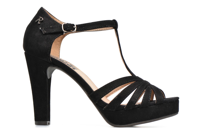 Sandales et nu-pieds Refresh Party 61758 Noir vue derrière