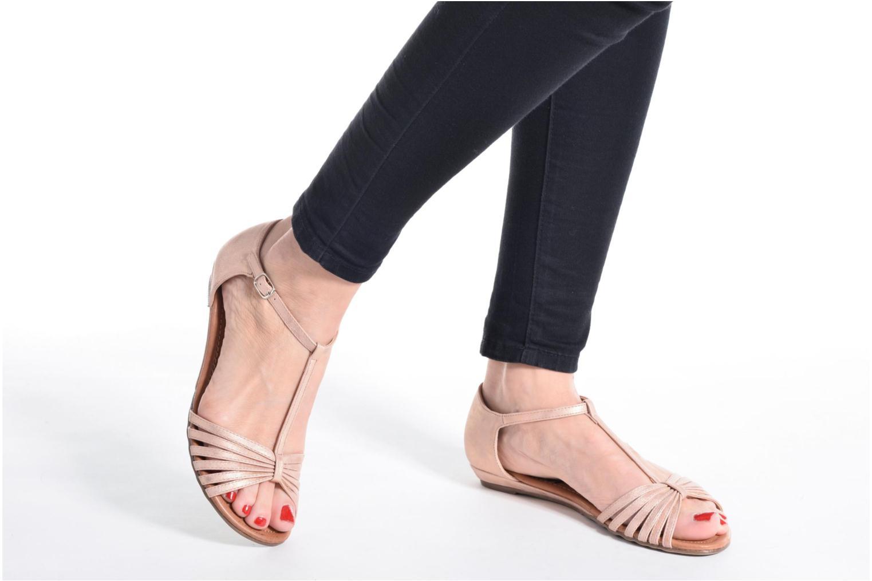 Sandales et nu-pieds Refresh Casey 61767 Argent vue bas / vue portée sac